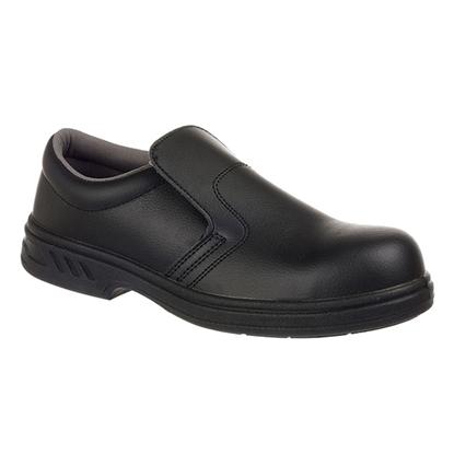 Picture of FW81 Steelite Black Slip-on Safety Shoe- Size 6