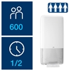 Picture of 552500 H5 Tork Peakserve Continuous Hand Towel Dispenser- White