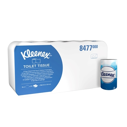 Picture of Kleenex 8477 Toilet Rolls- Small White