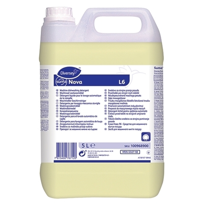 Picture of Diversey Suma Nova L6 Dishwashing Detergent L6 for All Water Types- 5 Litre